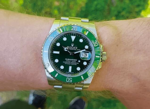 劳力士潜航者日历型绿水鬼制表工艺-你有勇气戴绿吗?