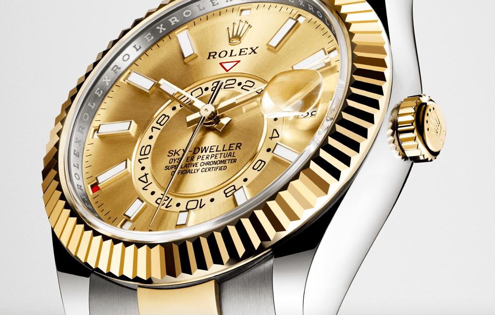 探索劳力士蚝式恒动Sky-Dweller腕表-环球旅行人士的腕表