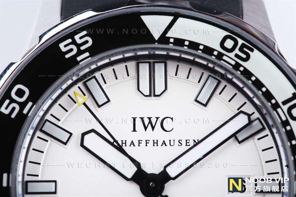 IWS厂万国四分之一黄白和正品对比评测