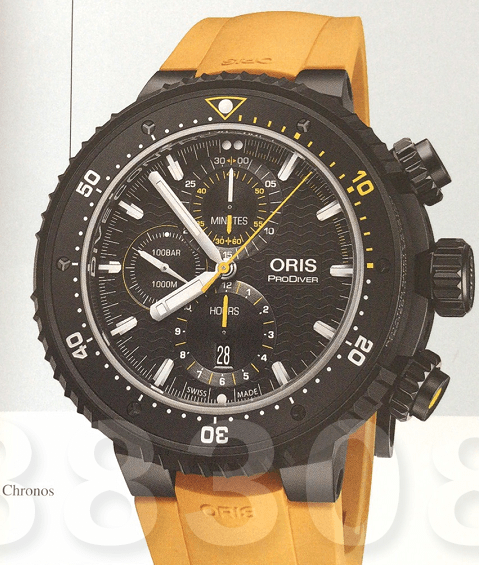 巴塞尔钟表展Oris专业潜水腕表