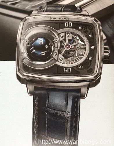 时间新维度HAUTLENCE-向飞行外套致敬BELL & ROSS腕表