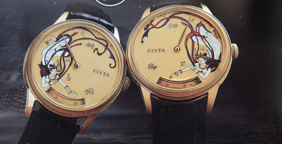 再现敦煌飞天FIYTA-复古而时髦GUccI复刻表