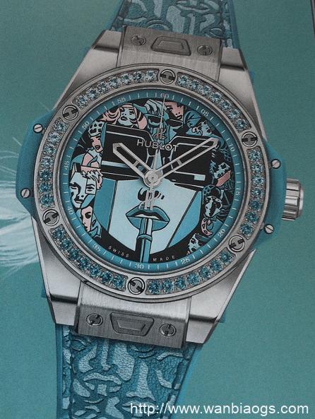 CARL F BUCHERER 玩转水下-HUBLOT戴上太阳镜腕表
