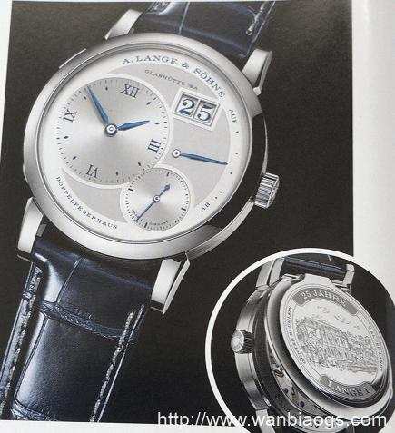 奢华之所在:LANGE 125周年 A.LANGE & SOHNE腕表