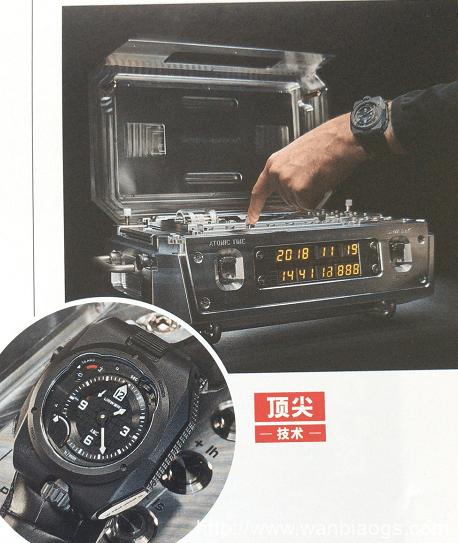 ZEITWERK10周年A LANGE & SOH-原子钟与腕表
