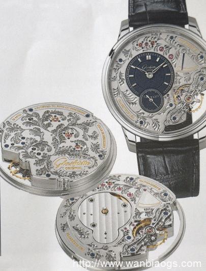 倒置机芯的典范GLASHUTTE ORIGINAL腕表-自家机芯庆百年TITONI1919系列腕表鉴赏