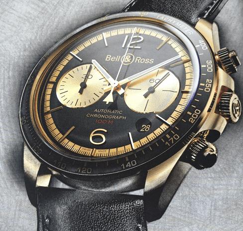 柏莱士BRV2-94 BELLYTANKER青铜计时码表-腕表公社