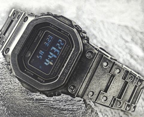 卡西欧 G-SHOCK GMW-B5000V-1腕表