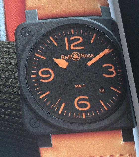 柏莱士BR03-92-MA-1腕表