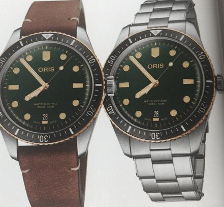 ORIS豪利时65年复刻版潜水腕表-腕表公社