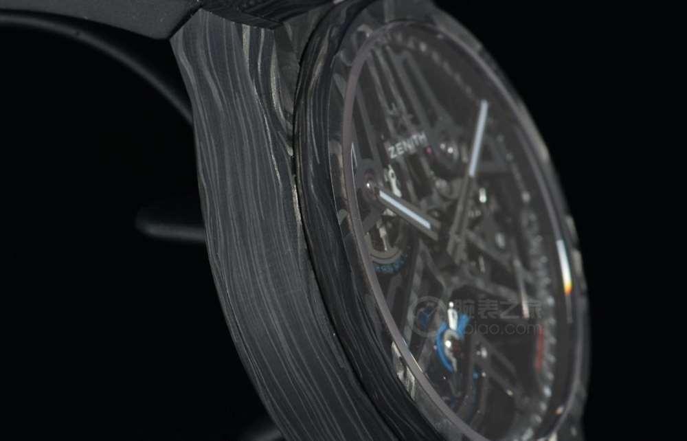 高复杂功能的强强联手 品鉴真力时DEFY系列芝麻链陀飞轮限量腕表-腕表公社