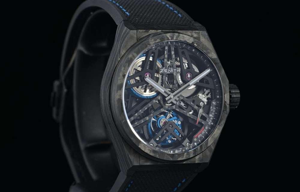 高复杂功能的强强联手 品鉴真力时DEFY系列芝麻链陀飞轮限量腕表