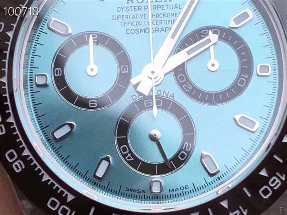 N厂劳力士冰蓝迪复刻表4130机芯-冰蓝色有毒!