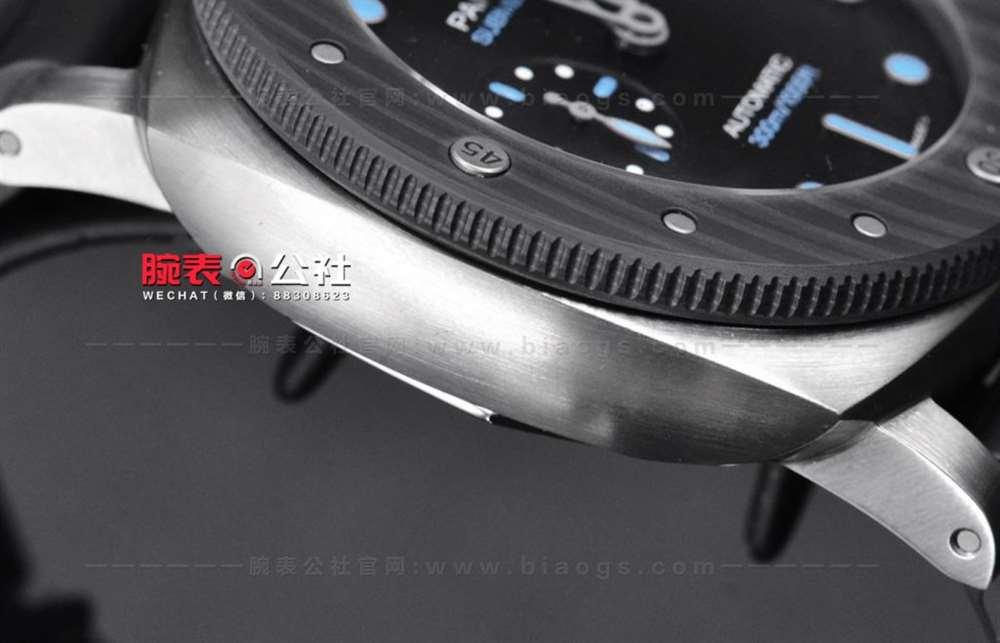 钛金属碳纤维全部融入:VS厂沛纳海799复刻表对比正品