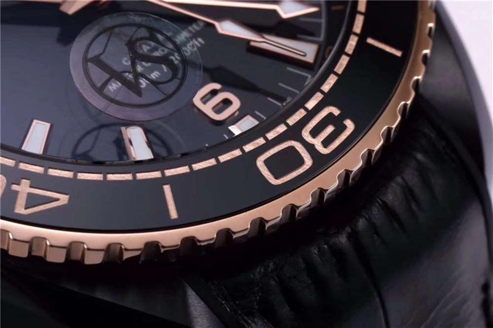 潜水必备:VS厂全新欧米茄海马600米深海之王复刻表