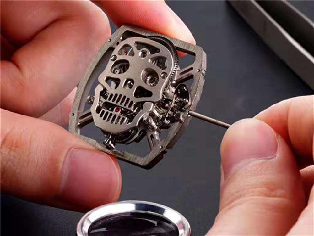 新品推荐:EUR厂理查德米勒RM052骷髅头复刻表-腕表公社