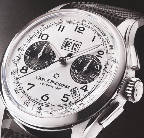 宝齐莱传承系列年历双盘时码表-腕表公社