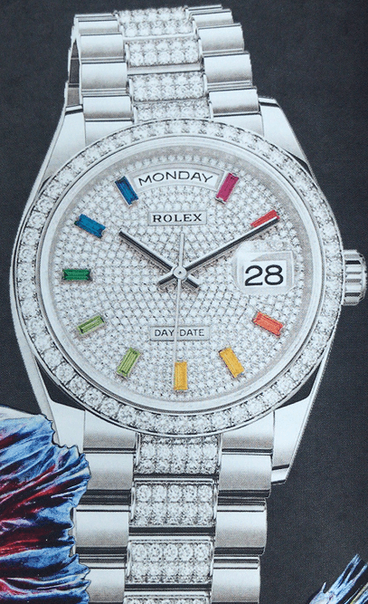 劳力士星期日历型36腕表-腕表公社