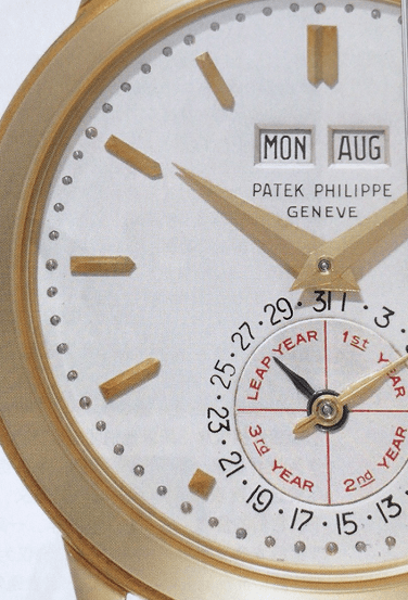 百达翡丽万年历腕表最初的杰作-腕表公社