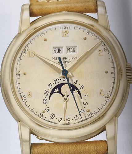 百达翡丽自动上链计时码表的诞生-腕表公社