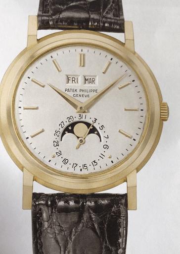百达翡丽3448自动上链万年历腕表