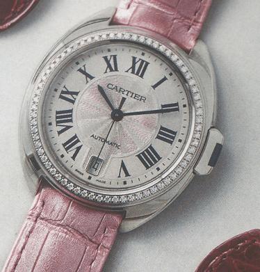 卡地亚钥匙腕表-世纪时计系列腕表-腕表公社