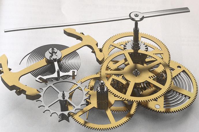 积家自主制造770型自动上链机芯