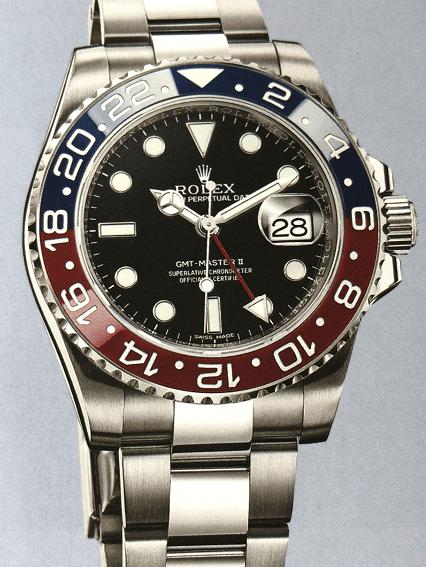 劳力士GMT红蓝圈腕表