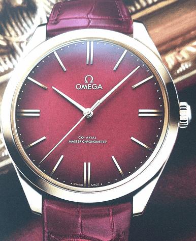 欧米茄蝶飞名典系列125周年纪念腕表