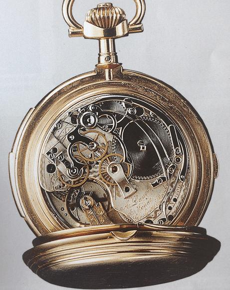 格拉苏蒂指针结构详解编号17689腕表-腕表公社