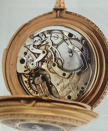格拉苏蒂编号17689朗格怀表的前世今生