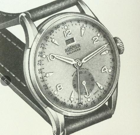 瑞士罗马表1950年历史-腕表公社