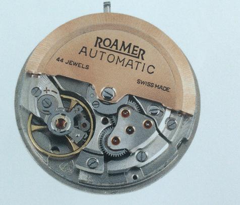 瑞士经典名表罗马表1951-1952年