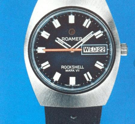 罗马指针式日历腕表和闹响腕表