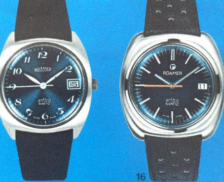 瑞士名表:罗马军用腕表
