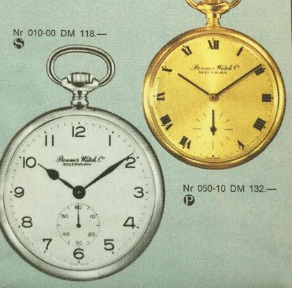 瑞士罗马腕表:怀表系列