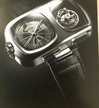 Angelus限量制造25块的U10 Tourbillon lumiere腕表