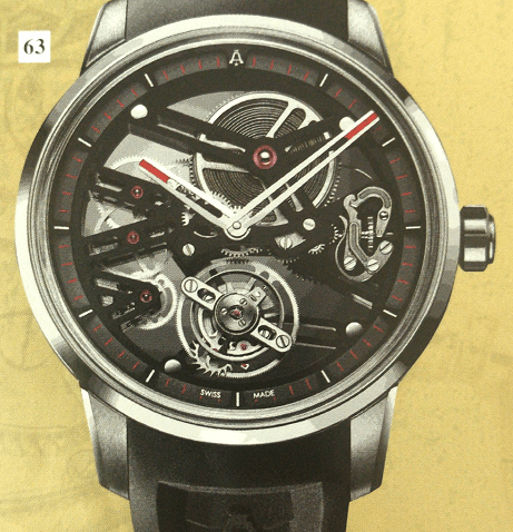 Angelus超级镂空陀飞轮腕表
