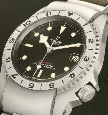帝舵全新碧湾P01型腕表