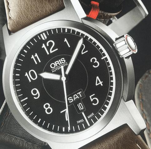 豪利时飞行员系列腕表