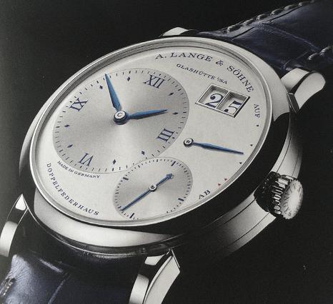 朗格25周年纪念款之三月款腕表