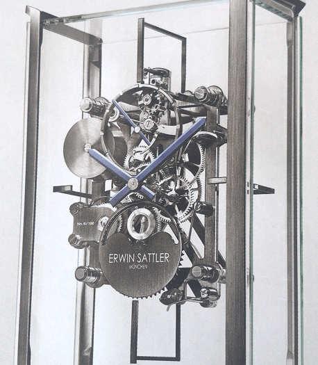 Sattler和奥迪合作完成的限量版座钟