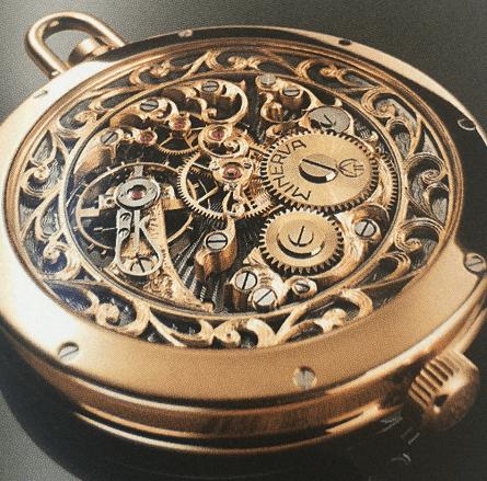 Erwin Sattler的精密立钟