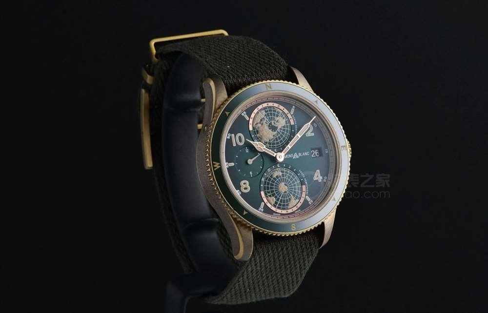 让我们带上腕表去探险:万宝龙1858系列Geosphere世界时腕表