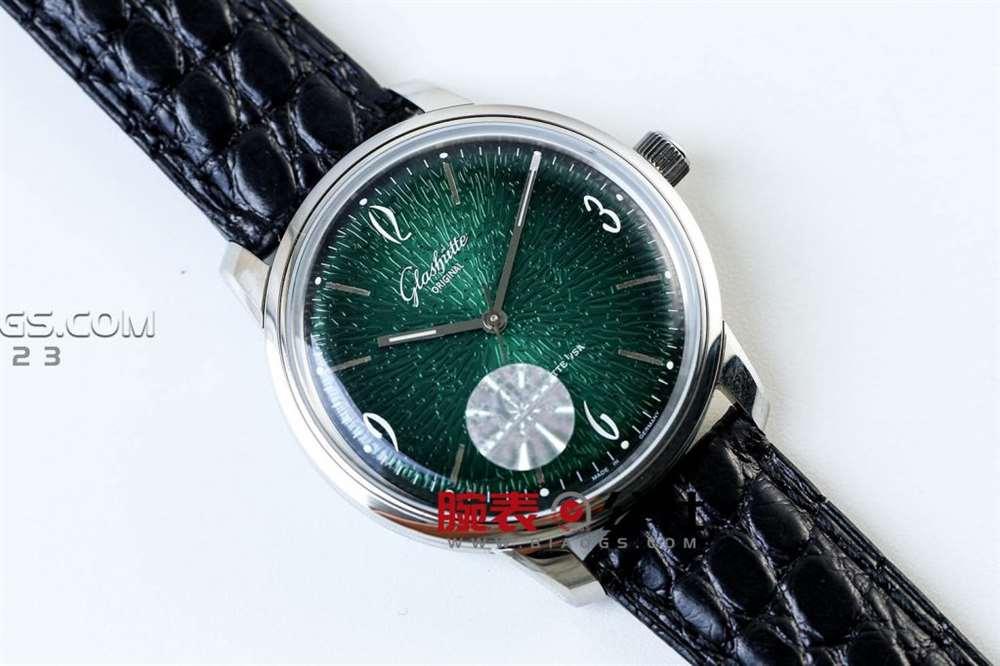 格拉苏蒂三块典型的朗格计时怀表-腕表公社