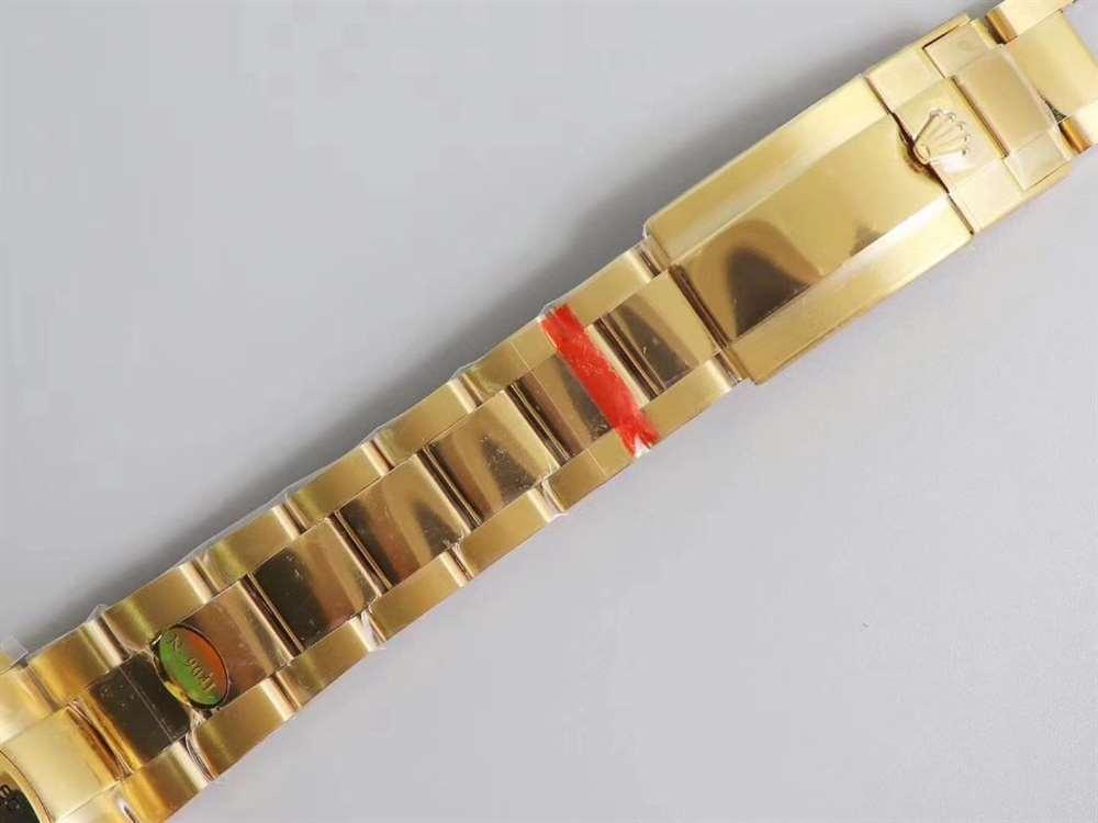 N厂劳力士绿金迪116508评测「4130机芯」碾压AR厂绿金迪-腕表公社