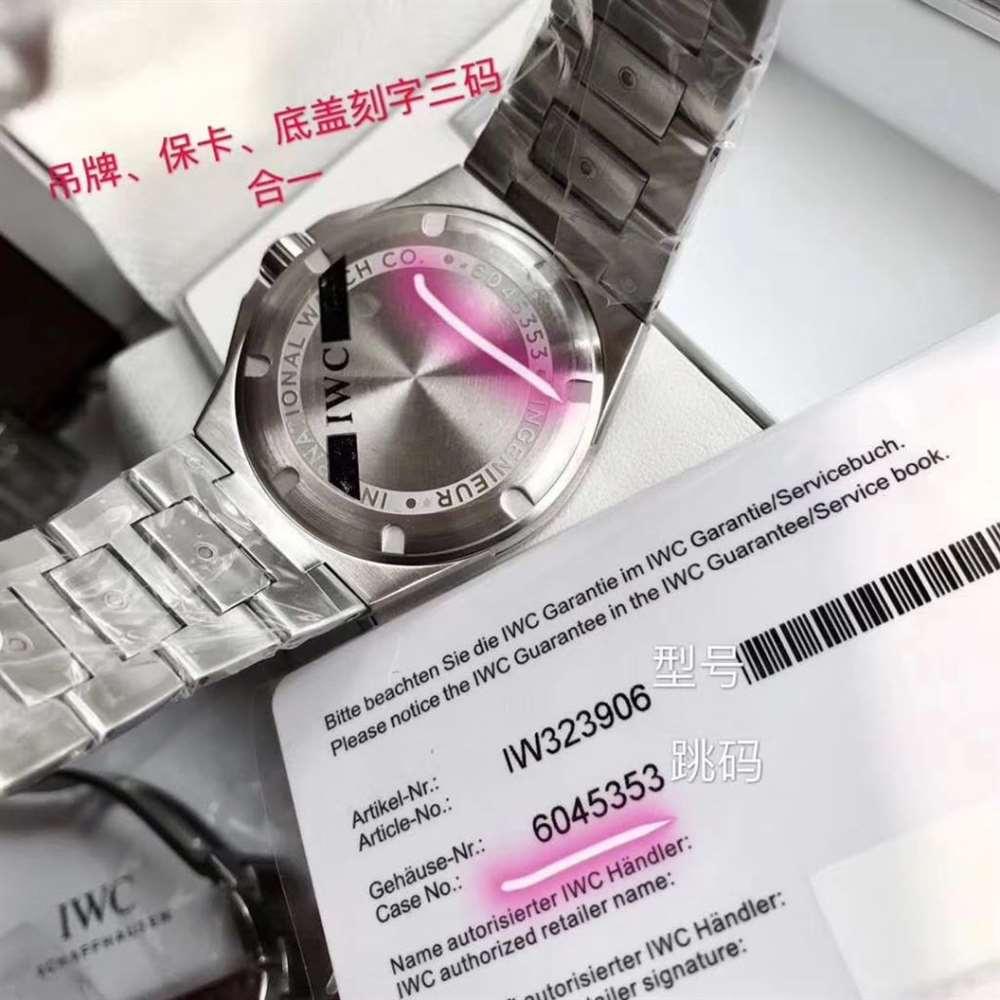原单万国工程师系列做工「ETA2892」原单万国工程师腕表细节评测