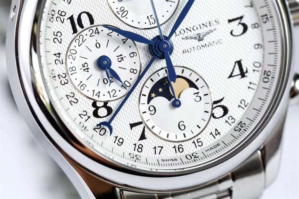 TW厂浪琴名匠月相八针复刻表做工怎么样-腕表公社
