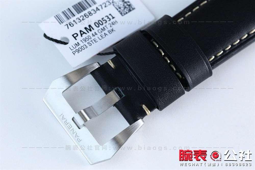 深度揭秘:VS厂沛纳海531GMT两地时复刻表评测-腕表公社