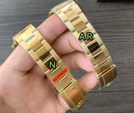 N厂劳力士绿金迪做工怎么样「4130机芯」对比AR厂强在那里-腕表公社